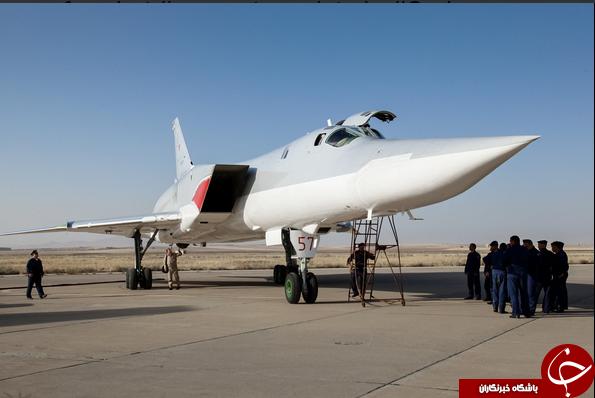 ادعای استقرار بمب افکن های راهبردی روسیه در فرودگاه همدان+عکس