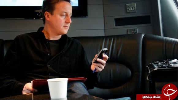 تلفن هوشمند افراد مطرح سیاسی