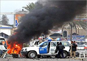 انفجار در بازاری در جنوب غرب بغداد