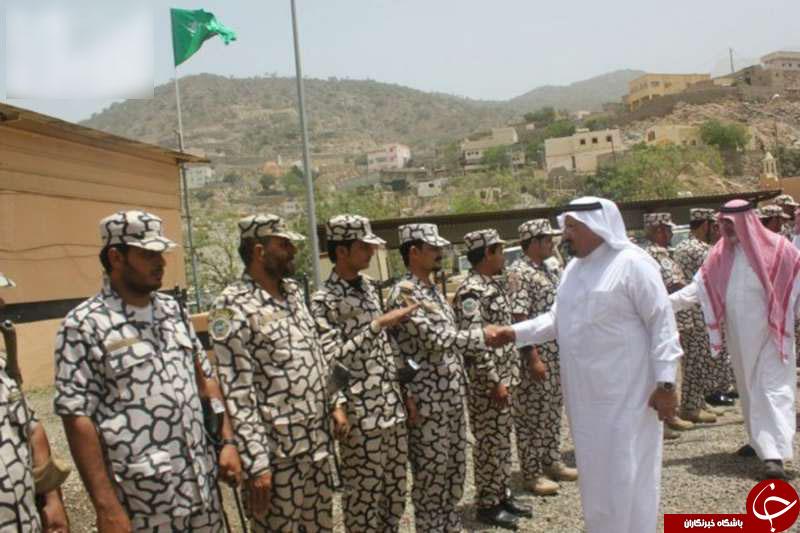 لباس های عجیب و غریب نیروهای نظامی سعودی