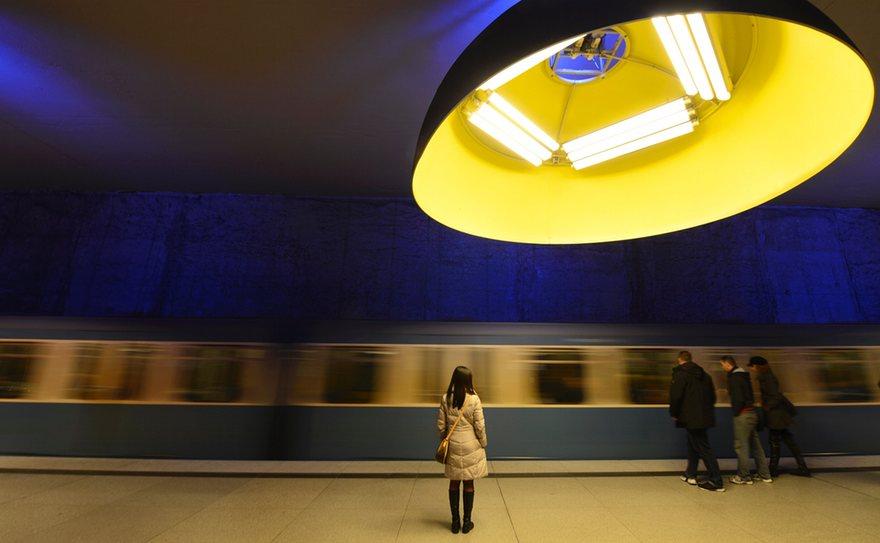 زیباترین ایستگاه های مترو در جهان+تصاویر