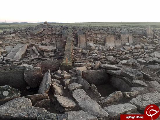 اولین هرم ساخته شده در جهان در قزاقستان کشف شد +تصاویر