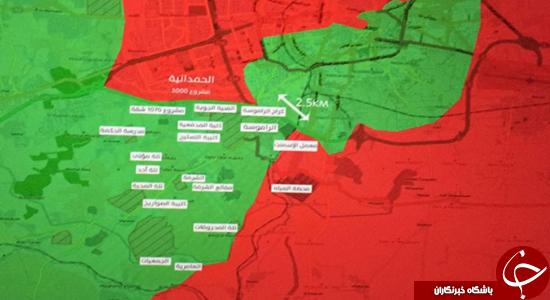 آخرین وضعیت ارتش سوریه در