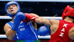 قهرمانی بوکسور قزاقستانی در وزن 69 کیلوگرم