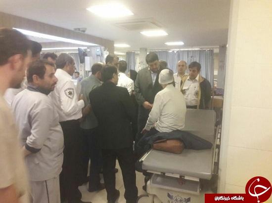 آخرین خبرها از تصادف اتوبوسها در اتوبان تهران/از قطع شدن پای یک مجروح تا حضور یک فرانسوی در میان مصدومان