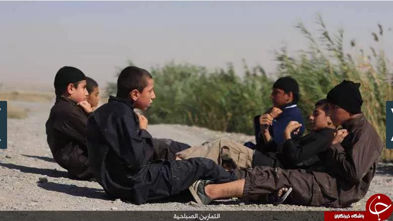 تقابل توله شیرهای داعشی با نیروهای ایرانی در سوریه/ کودکان انتحاری آماده انفجار خود+تصاویر