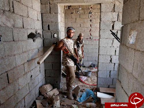 نبرد نفسگیر ارتش لیبی با تروریستهای داعش+ تصاویر