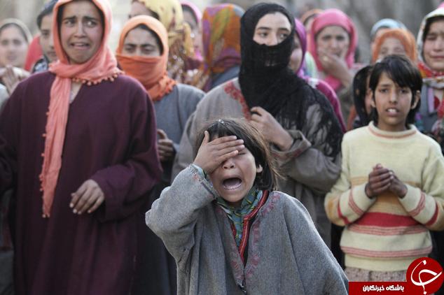 آسوشیتد پرس: تاریخ 69 سال درگیری های مرگبار در کشمیر + 14 عکس
