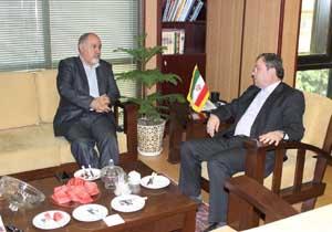 باشگاه خبرنگاران -رییس خانه اقتصاد ایران با مدیر عامل موسسه رسانههای تصویری دیدار کرد