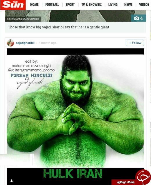 زندگی خصوصی سجاد غریبی هالک ایرانی!