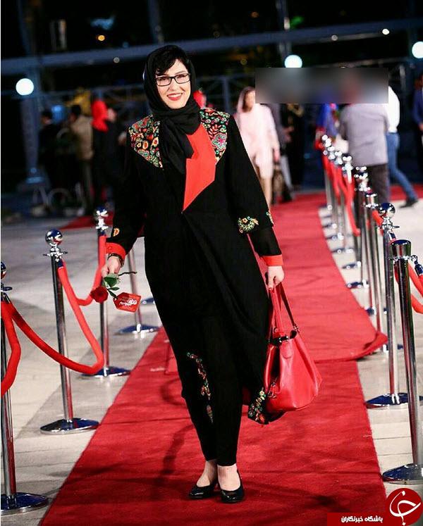 تیپ متفاوت هنرمندان در جشن سینمایی حافظ +آلبوم عکس