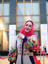 باشگاه خبرنگاران -تیپ متفاوت هنرمندان در جشن سینمایی حافظ +آلبوم عکس
