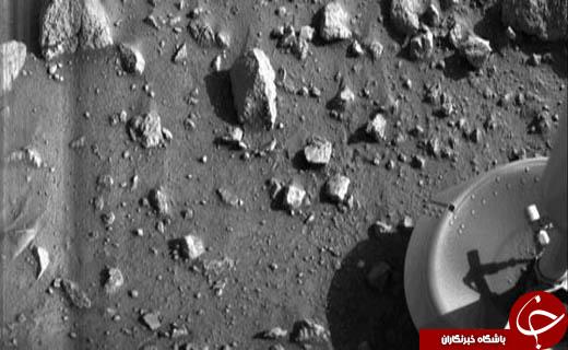 تصویری از خاک مریخ را ببینید