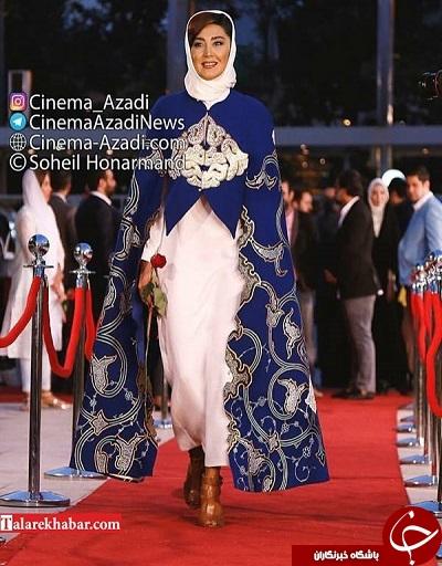 لباس خاص بازیگر زن در جشنواره حافظ
