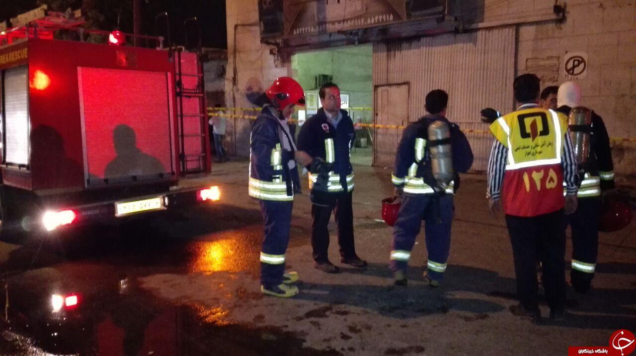 نشت گاز در کارخانه یخ اهواز / ١٣ نفر راهی بیمارستان شدند