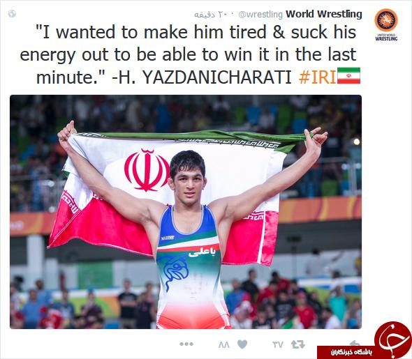 شوخیهای طنز کاربران پی از کسب طلای حسن یزدانی + کامنتها