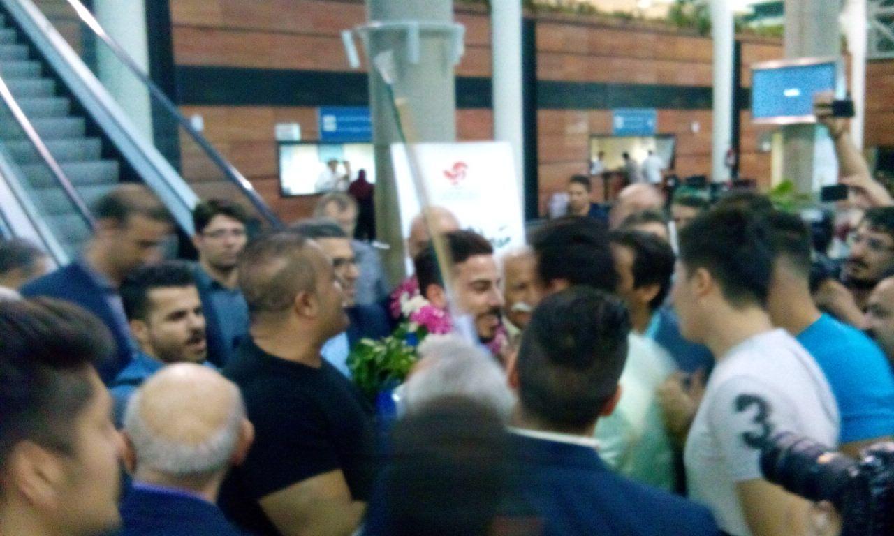 بازگشت اعضای تیم ملی وزنه برداری به ایران+تصاویر اختصاصی