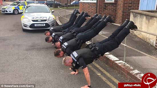 چالشی دیگر که با دستان توانمند پلیسها راه افتاد +تصاویر