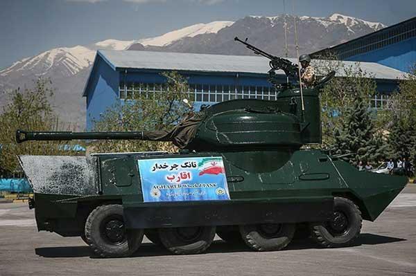 """""""تانک اقارب""""ساخت نیروی زمینی ارتش را بشناشید+تصاویر"""