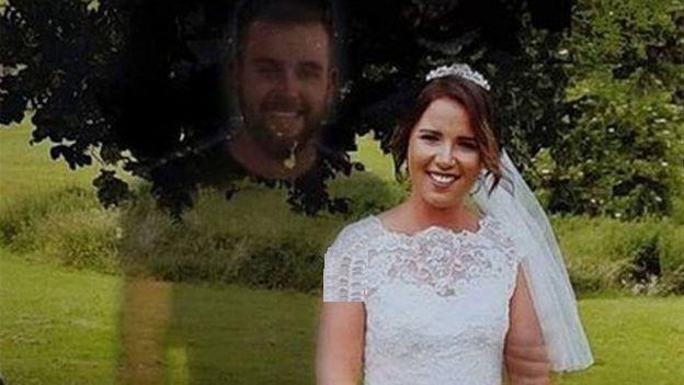 یک زن انگلیسی تصویر برادر مردهاش را به عکسهای عروسیاش اضافه کرد + تصاویر