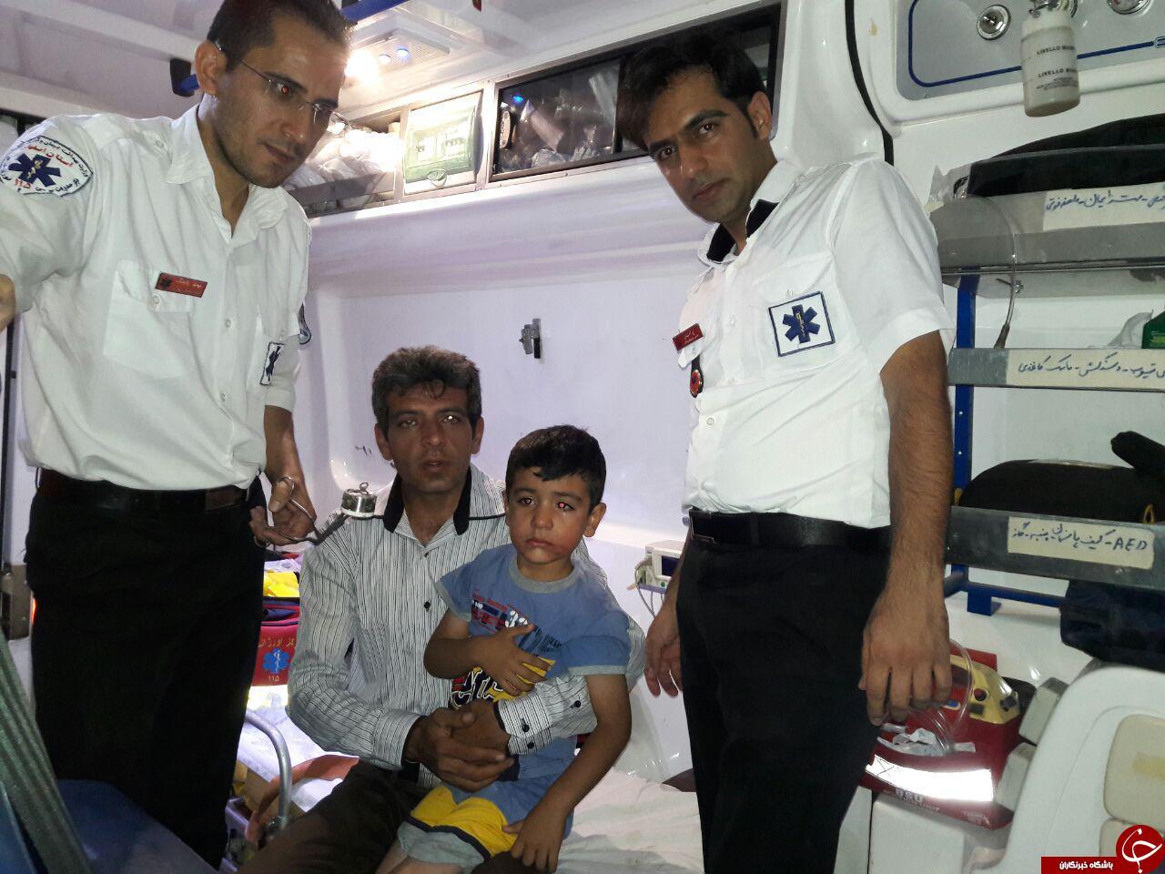 ماجرای کودکی که درب بطری را بلعید + عکس