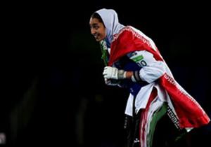 کنسرت بازیگر زن کشورمان برای اولین زن ایرانی برنده مدال المپیک
