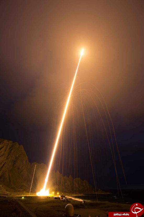 ثبت رکورد پرتاب بیشترین موتورهای موشکی از سوی ناسا+ عکس