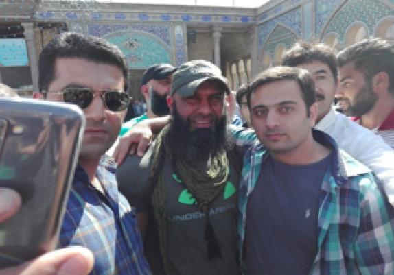 باشگاه خبرنگاران - ابوعزرائیل در حرم حضرت عبدالعظیم حسنی (ع) + فیلم و تصاویر