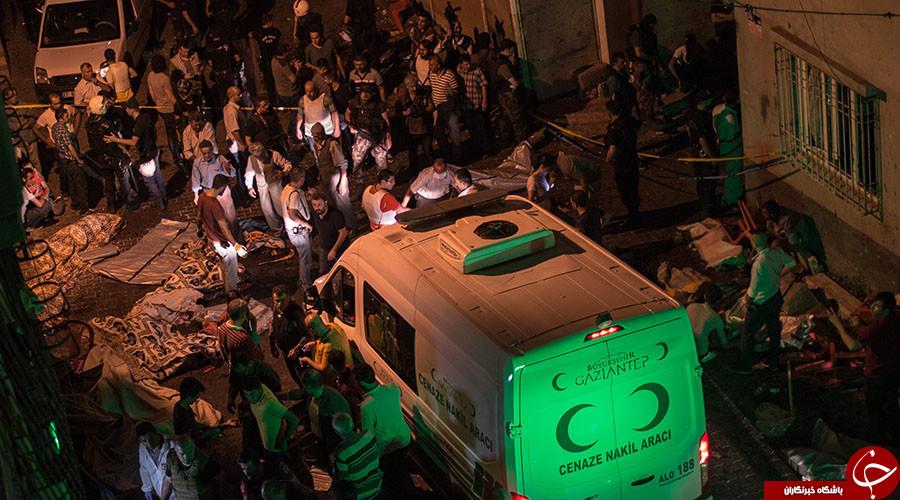 حمله انتحاری داعش به مراسم عروسی در ترکیه/ 116 کشته و زخمی تا این لحظه+تصاویر