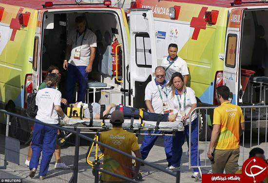 بدترین مصدومیتهای المپیک ریو +تصاویر