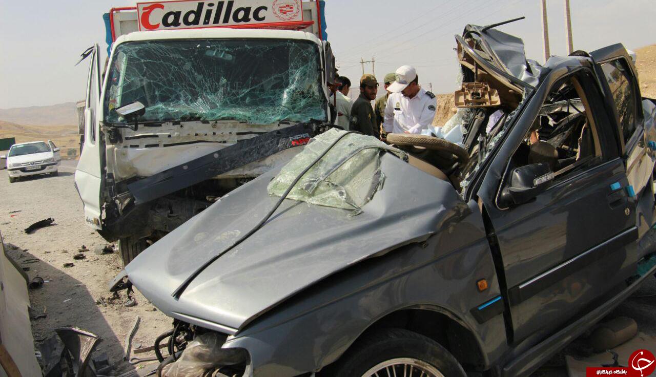 تصاویری دلخراش از تصادفی با 5 کشته و یک مجروح!
