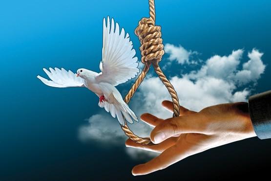رهایی یک زندانی ملایری از طناب دار