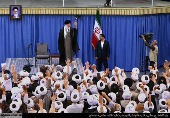 بیانات رهبر معظم انقلاب در دیدار ائمه جماعات مساجد استان تهران
