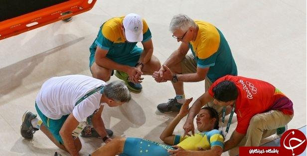 وحشتناکترین مصدومیت های المپیک 2016