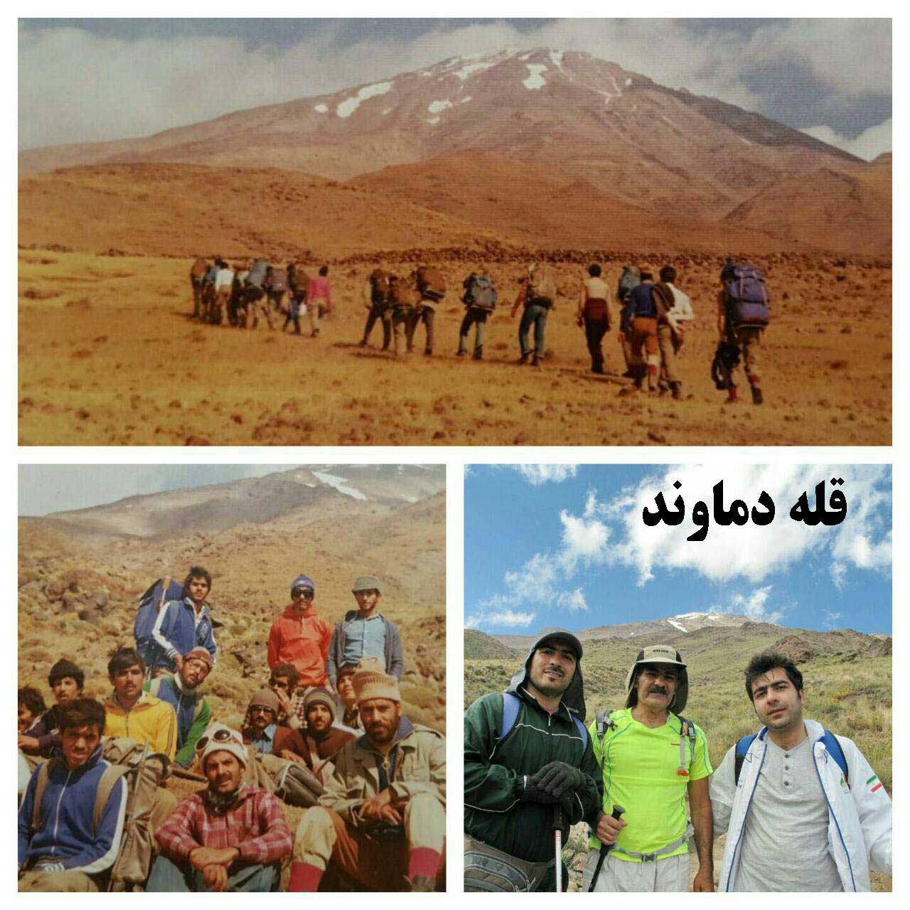 روايت عمو عزت از فتح قله دماوند، جريانات سياسی و دامادش! + عکس