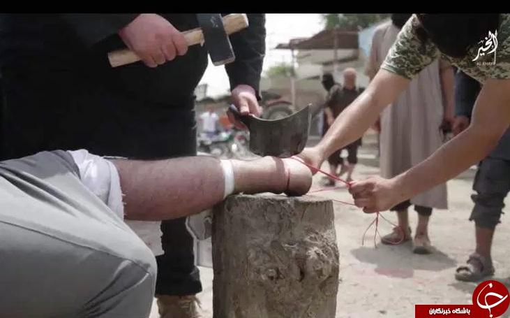 جنایات وحشیانه پلیس داعش در سوریه+ (8 عکس)