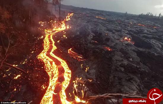 باشگاه خبرنگاران -فعال ترین آتشفشان روی کره زمین را ببینید+تصاویر