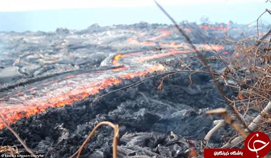 تصاویری ببینید که تا به حال از هیچ آتشفشانی ندیدهاید