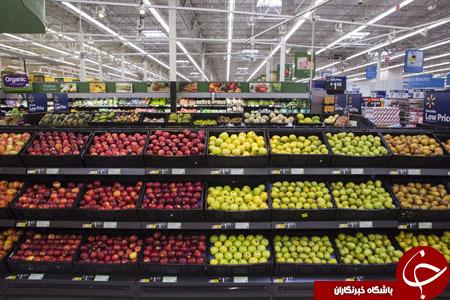 اقدام جالب والمارت برای کاهش دور ریز میوه و سبزیجات+ تصاویر