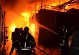 باشگاه خبرنگاران - آتش سوزی در پاساژ فتوت تهران + فیلم
