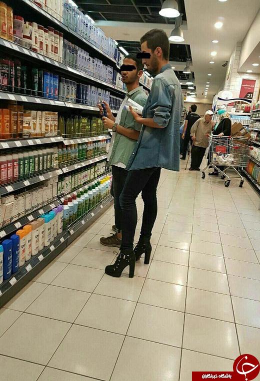 مد پوشیدن کفش پاشنه بلند برای مردان ایرانی، سوغات جدید ماهواره