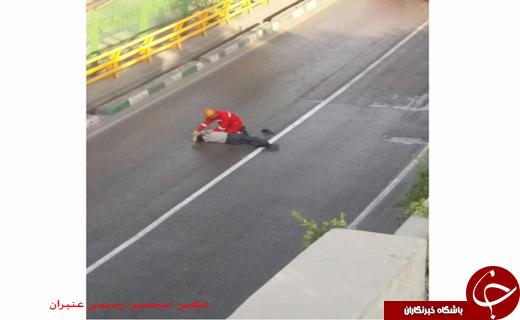 خودکشی مرد 60ساله ازروی پلی در مشهد+تصاویر
