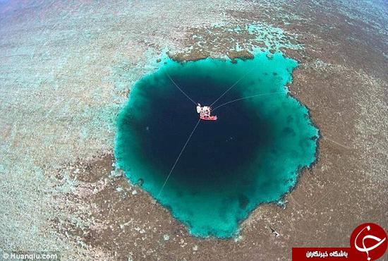 عمیق ترین غار زیر دریایی در چین کشف شد +تصاویر