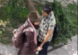 زنان کم حجاب در خیابانهای تهران