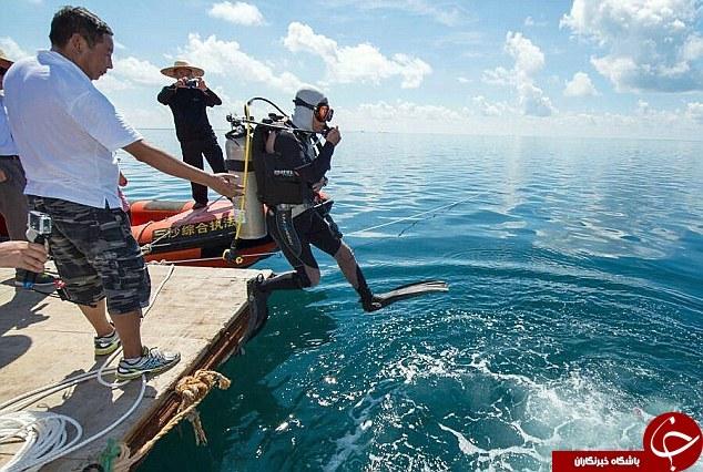 کفش عمیق ترین گودال زیر دریا + تصاویر
