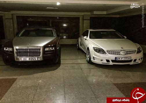 عکس/ پارکینگ یک میلیاردر تهرانی