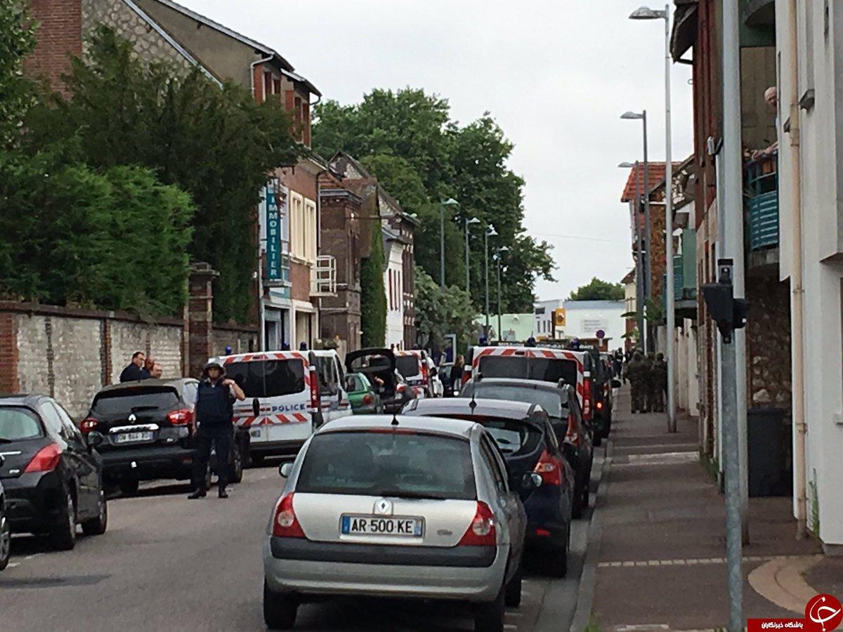 گروگانگیری در کلیسایی در فرانسه/ گروگانگیران کشته شدند/ سر یک کشیش بُریده شد