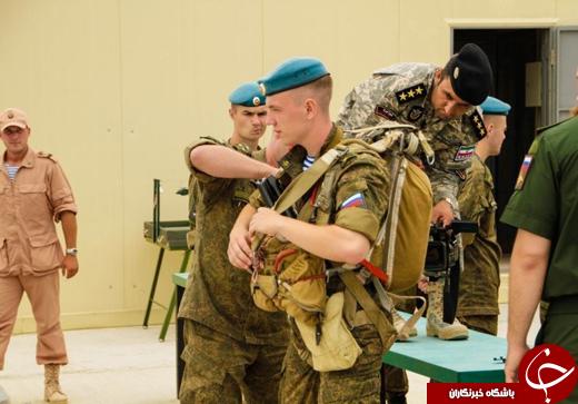 تصاویری از حضور تکاوران ارتش و سپاه در روسیه