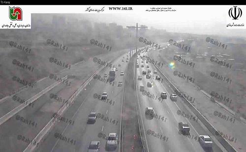 بارش باران و ترافیک نیمه سنگین در جادههای کشور+محدودیت ها و تصاویر