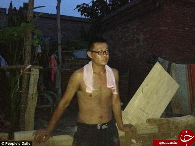 مرد چینی اول مادرش را نجات داد، زنش طلاق گرفت